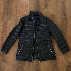 Ralph Lauren Polo Black Puffer Jacket